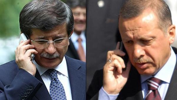 Davutoğlu Erdoğan'a Bilgi Verdi