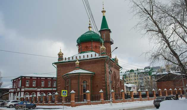 Rusya'da bir Cami 90 Yıl Sonra İbadete Açıldı