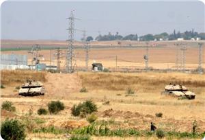 Siyonistler Han Yunus'da Sınır İhlali Yaptı