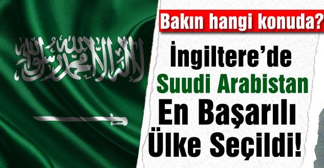 Suudi Arabistan En Başarılı Ülke Seçildi!