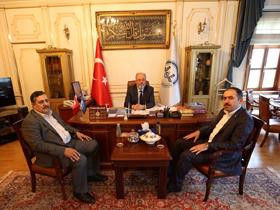 HÜDA PAR'dan İstanbul Müftüsüne Ziyaret