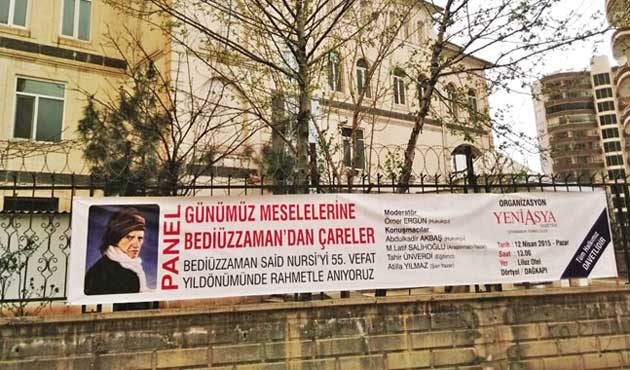 Bediüzzaman Afişine HDP'li Belediyeden Engel