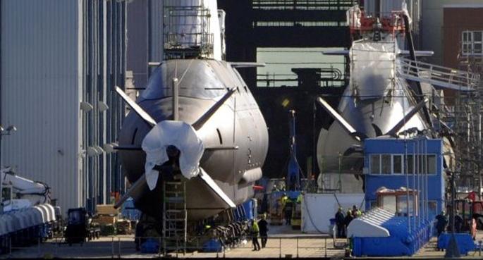 Almanya'dan İsrail'e bir Denizaltı Daha