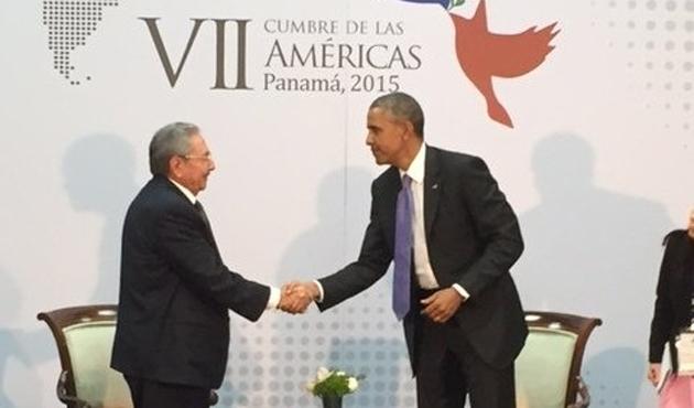ABD ve Küba Başkanları 60 yıl Sonra Görüştü