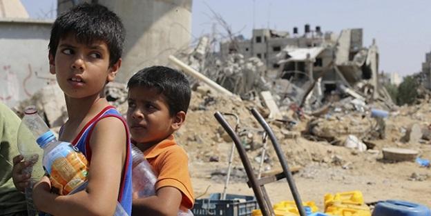 Filistinli Çocuklar İşçi Olarak Çalıştırılıyor