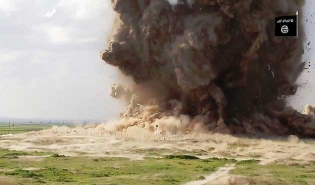 IŞİD Antik kent Nimrud'u Yıktı / VİDEO