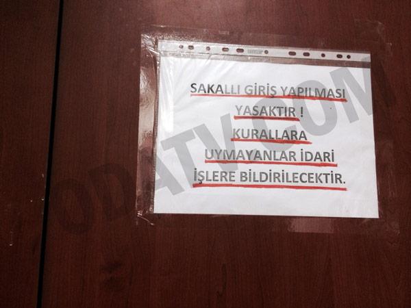 Bakırköy Adliyesi'nde Sakallı Giriş Yasağı !