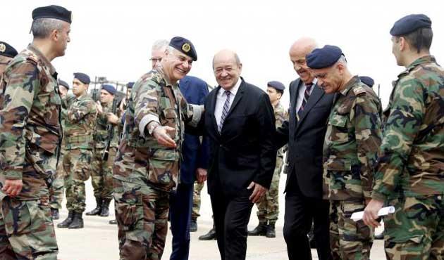 Fransa'dan Lübnan'a ilk silah Sevkiyatı Yapıldı