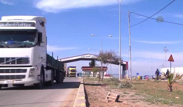 Lübnanlı şoförler hala Suriye'de mahsur