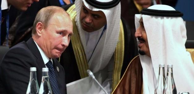 Kral Salman'dan Putin'e  Süpriz Telefon