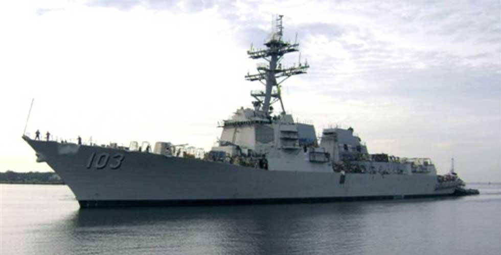 ABD Savaş Gemileri Yola Çıktı