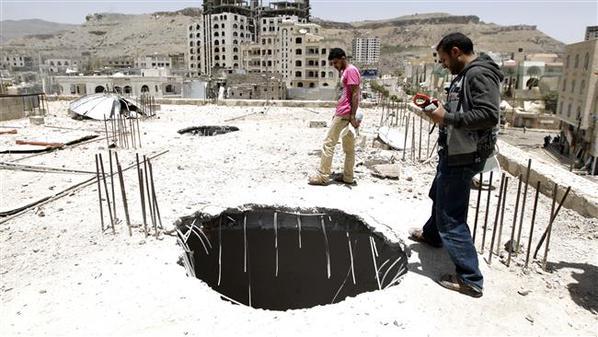 Suud Yemene Bomba Yağdırdı