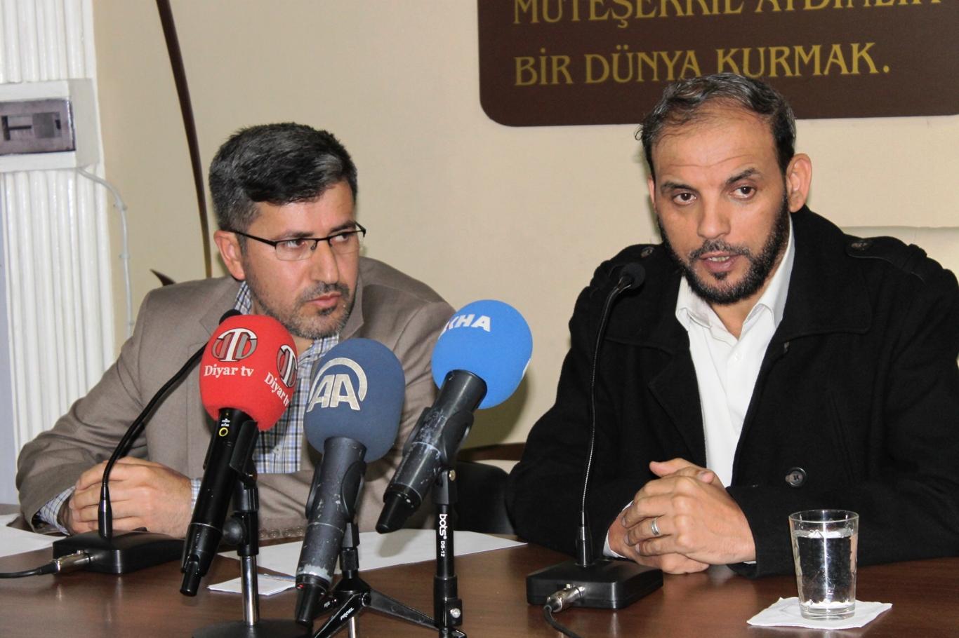 Hamas Lideri Diyarbakır'da Konuştu