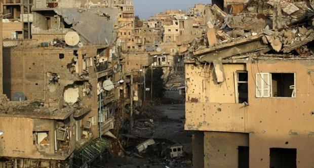 Deyr ez Zor'da 228 bin Suriyeli IŞİD Kuşatması Altında
