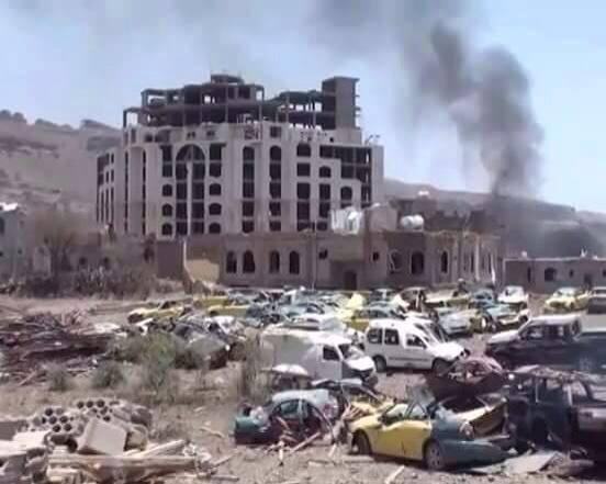 Yemen'de Suud'un Hava Saldırıları Sürüyor