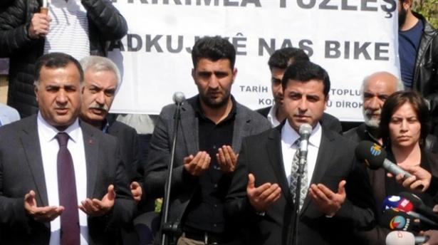 Demirtaş: PKK Elini Tetikten Çekmeli