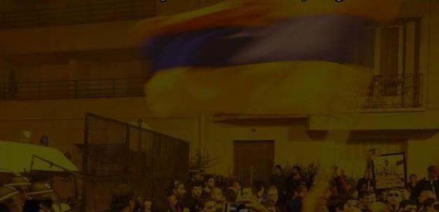 ABD'de Ermeniler Türk Bayrağına Saldırınca....
