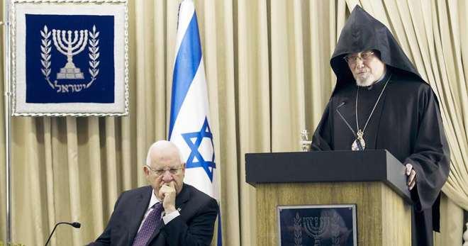 İsrail Cumhurbaşkanı 'Soykırım' Demedi