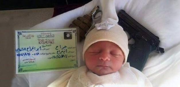 IŞİD  Şimdide Bebekleri Kulanıyor