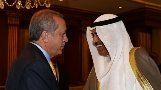 Erdoğan Kuveyt Başbakanını İle Görüştü