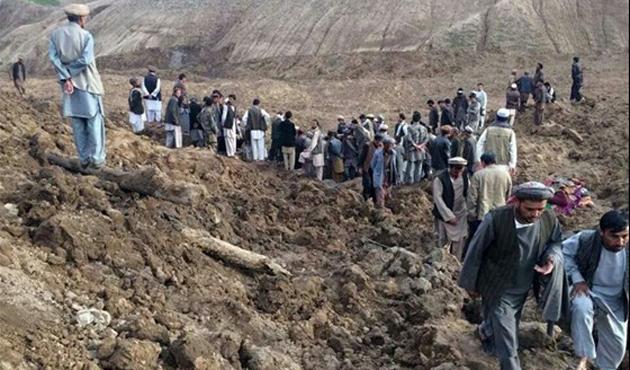 Afganistan'da Toprak Kaymasında 52 Ölü