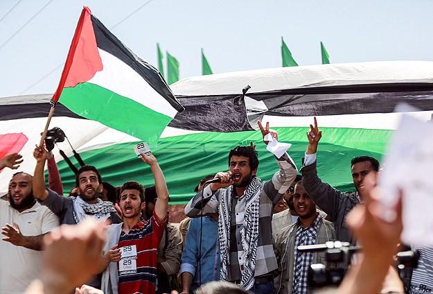 """Gazze'de """"Birlik için"""" Yürüyüş"""