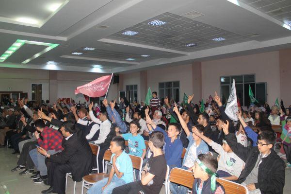 İzmir Bornova'da Kutlu Doğum Etkinliği