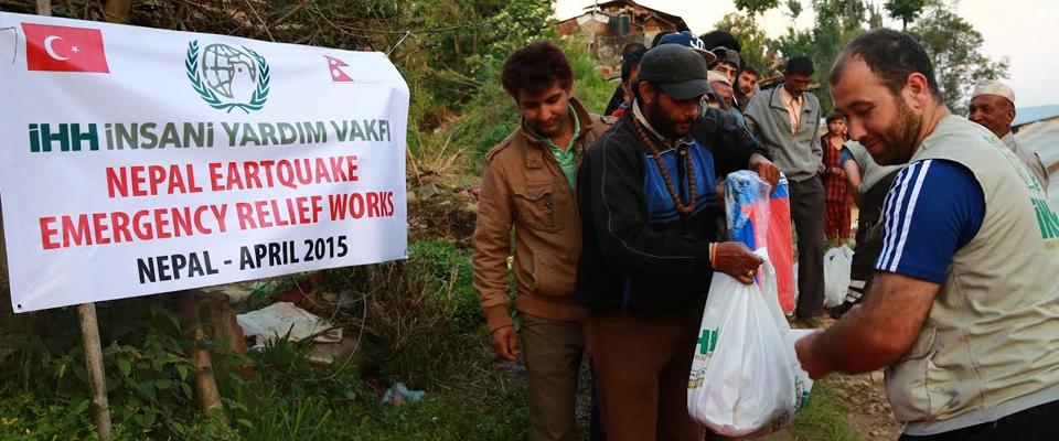 İHH, Nepal'de 13.000 Kişiye Yardım