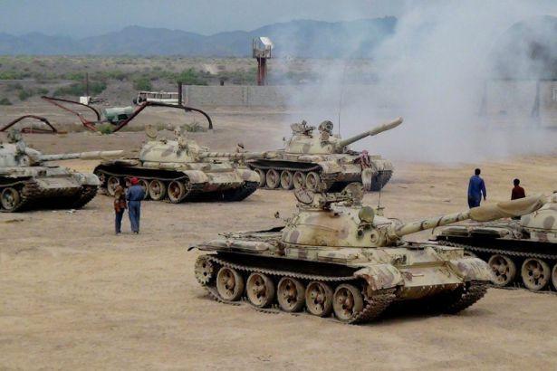 Suud Askerleri Yemen'e  Çıkartma Yaptı