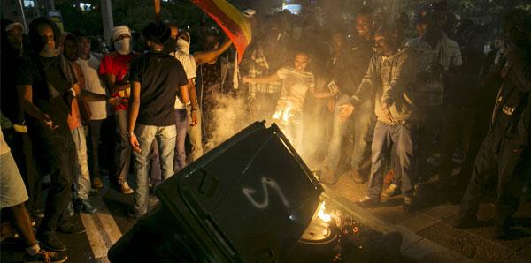 İsrail Karıştı. 20 Polis Yaralı