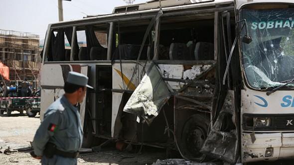 Kabil'de Kanlı Saldırı