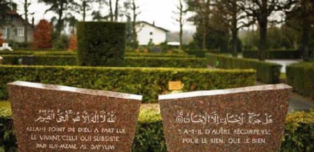 İsviçre'de Müslüman Mezarlığına Çirkin Saldırı
