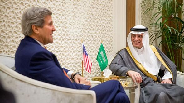 John Kerry'nin Suudi Arabistan Temasları
