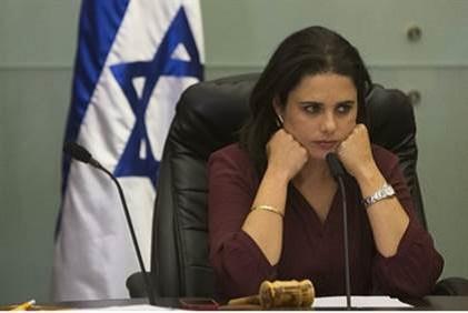 """Katillerin Anası """"İsrail"""" Adalet Bakanı Oldu !"""