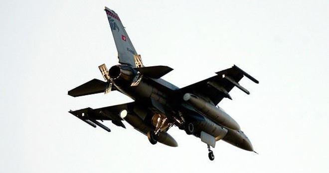 Türk Jetlerine Suriye'den Taciz