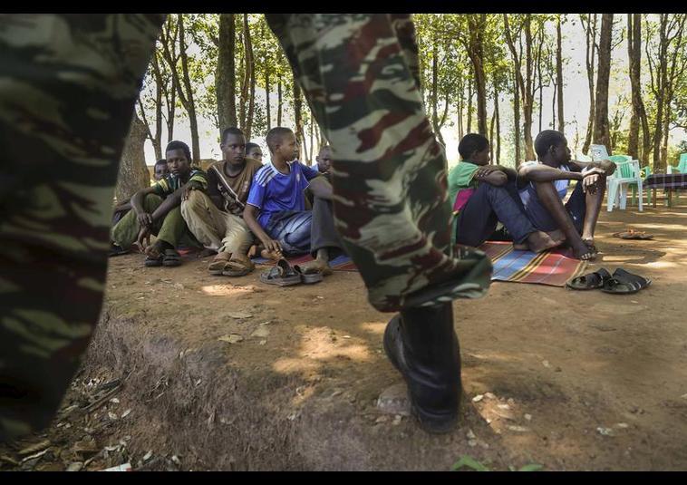 357 Çocuk Asker Kurtarıldı