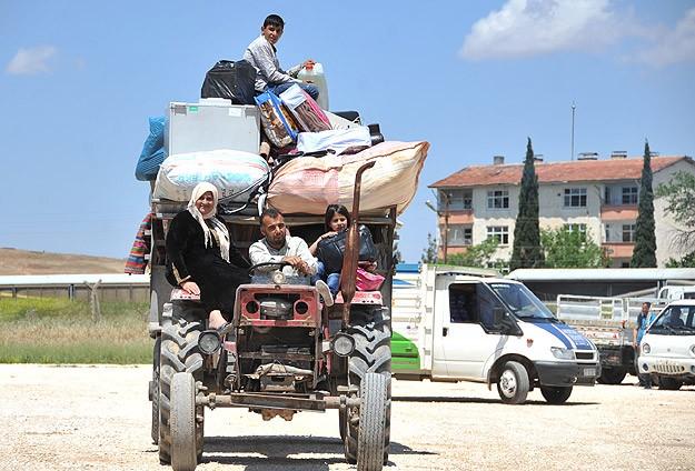 Kobanili Sığınmacıların Üçte Biri Döndü