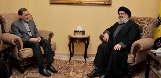 Hamaney'in danışmanı Nasrallah'la Görüştü