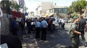 Kudüs'te Filistinli Şoförün Çarptığı İki İşgal Polisi Yaralandı