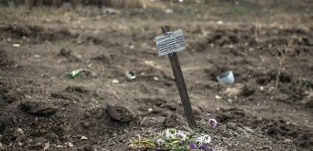 Müslümanları toplu mezarlara Gömmüşler