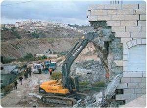 İşgal Yönetimi Silvan'da Filistinli Aileye Ait Tek Katlı Evi Yıktı