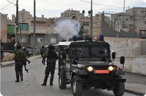 El-Halil'de İşgal Güçleriyle Filistinliler Arasında Çatışmalar