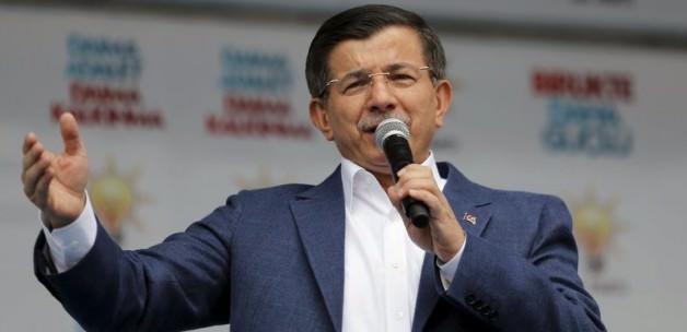 Davutoğlu'ndan  PYD Resti