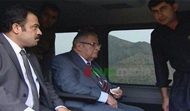 Celal Talabani Üç Yıl Sonra Ortaya Çıktı