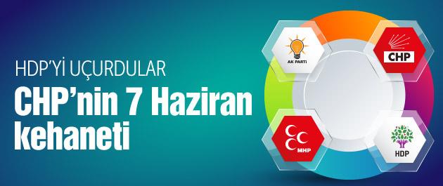 CHP'nin 7 Haziran kehaneti HDP uçuyor AK Parti ise...