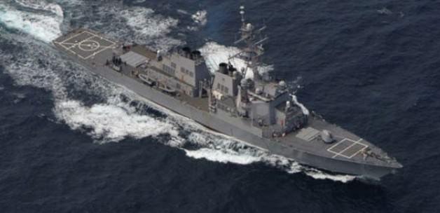 Rus uçaklarından ABD gemisine taciz