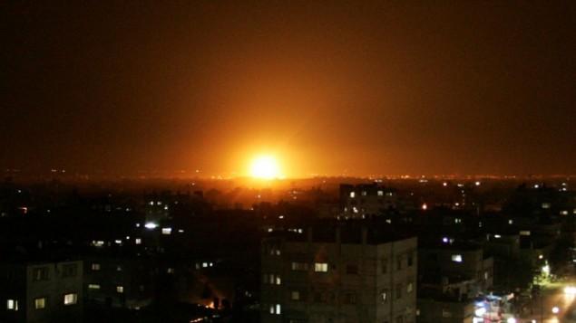 İsrail'den Gazze'ye 3 Hava Saldırısı