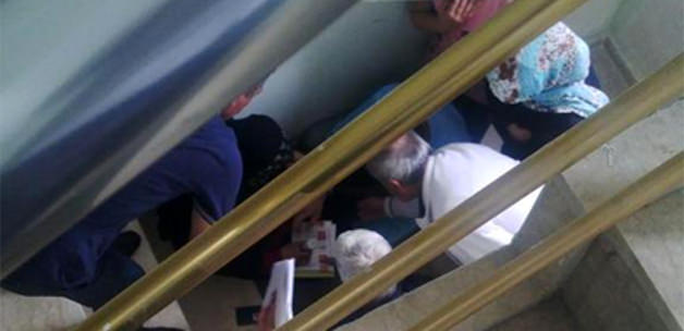 HDP'liler Merdiven Altında Mühür Basıyor!