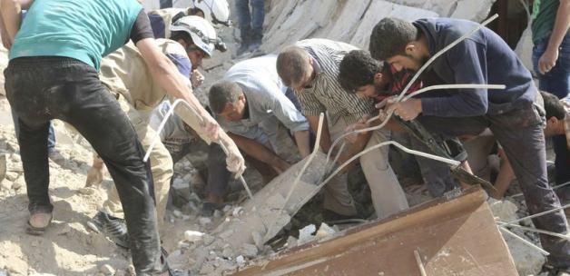 Humus'ta Varil Bombalı Saldırı