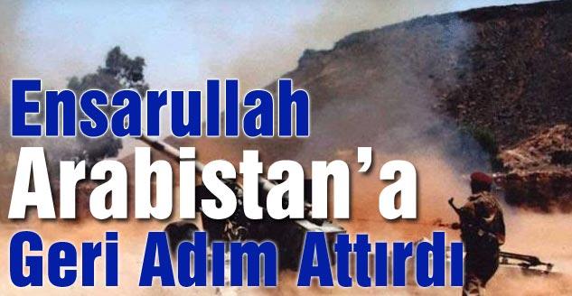 Ensarullah Arabistan'a Geri Adım Attırdı